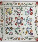 Connie's Flower Garden Quilt