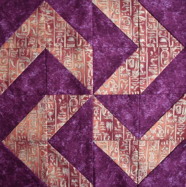 Carolyn Gibbs provides free guidelines on acheiving perfect points in traditional patchwork