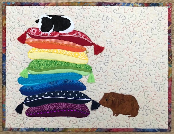 The Making Of My Crazy Cushions Quilt Pattern Ukqu