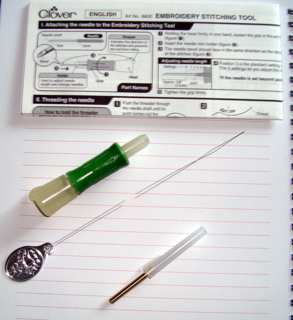 Clover Embroidery Stitching Tool: Product Review by Denise