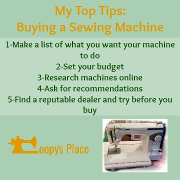 My Top Tips for Buying A New Sewing Machine - UKQU