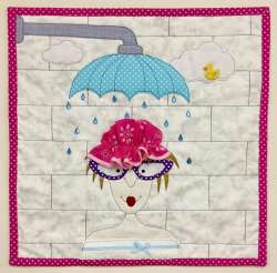april showers, quilts, ukqu