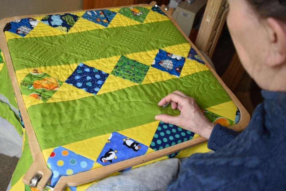 Starting Hand Quilting Part 4 Equipment Hoops And Frames